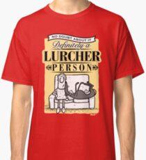 Lurcher Person Classic T-Shirt