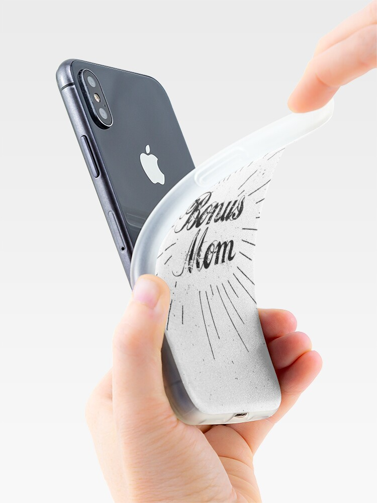 Alternate view of Bonus Mom iPhone Case & Cover