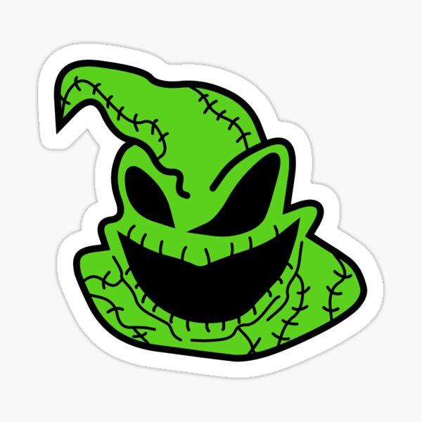 Oogie Boogie Boo Sticker