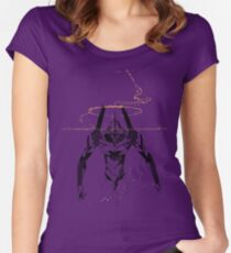 Unit-01 Women's Fitted Scoop T-Shirt