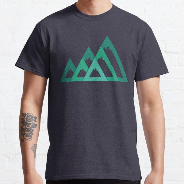 Montañas Camiseta clásica
