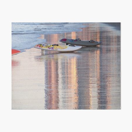 Afternoon Reflections Art Board Print