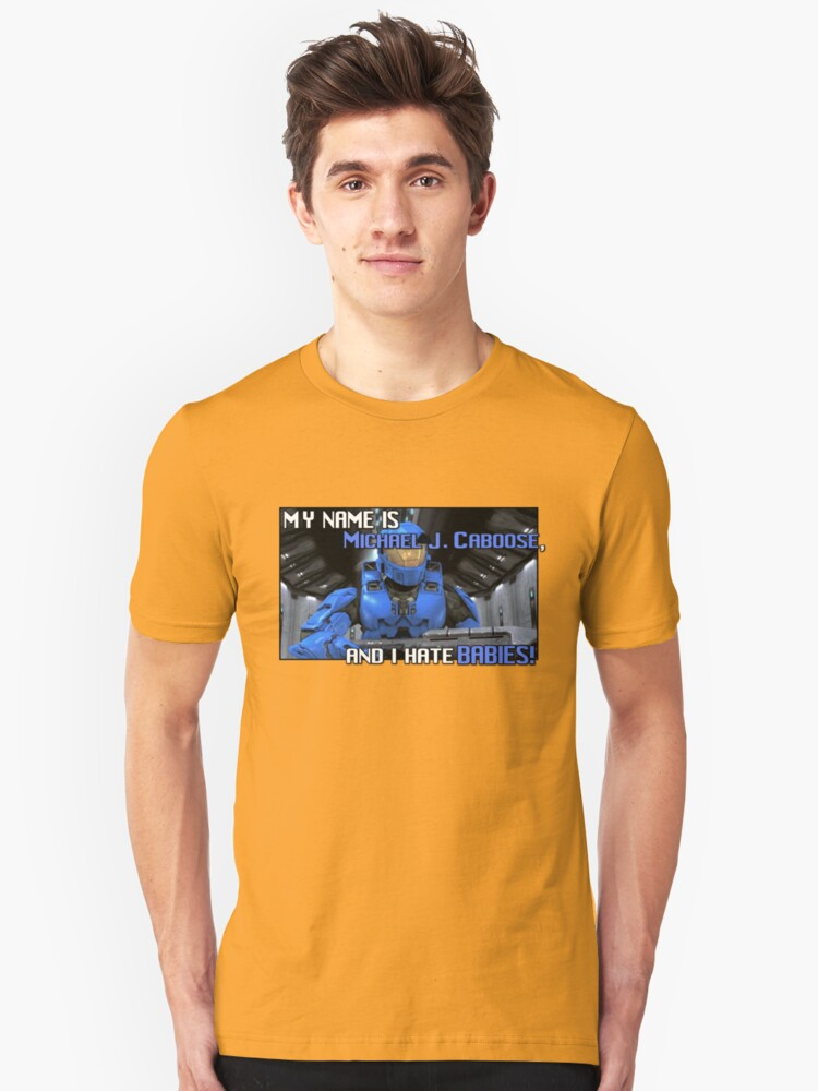 Red Vs Blue: Caboose Best Quote Unisex T-Shirt Front