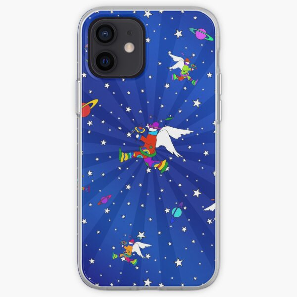 Angel Dudes Starry Night iPhone Soft Case
