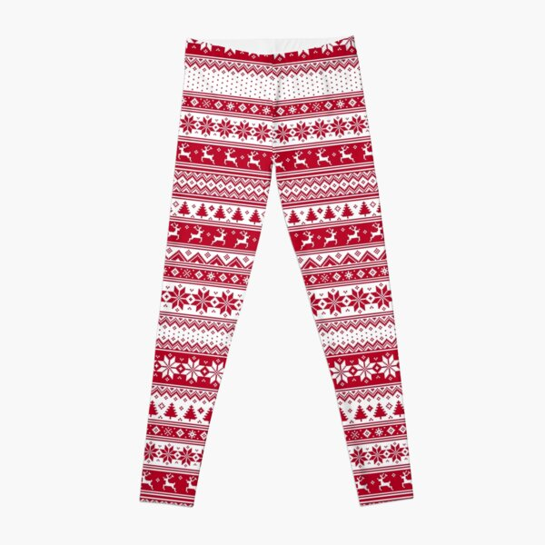 Nordic - Scandinavian Christmas Leggings