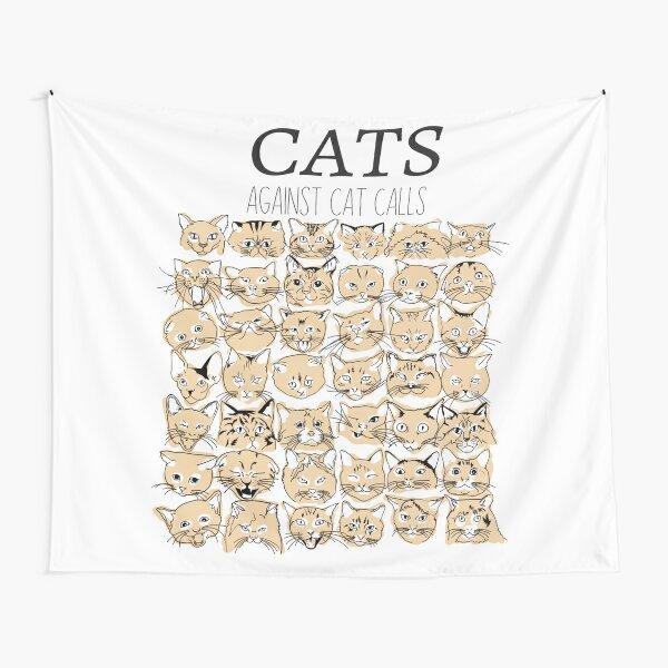 Cats Against Cat Calls Tapestry