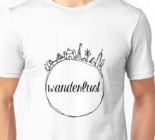Wanderlust Globe Unisex T-Shirt