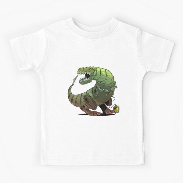 Robot T-rex Kids T-Shirt