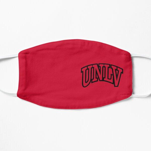 UNLV Rebels wordmark Flat Mask