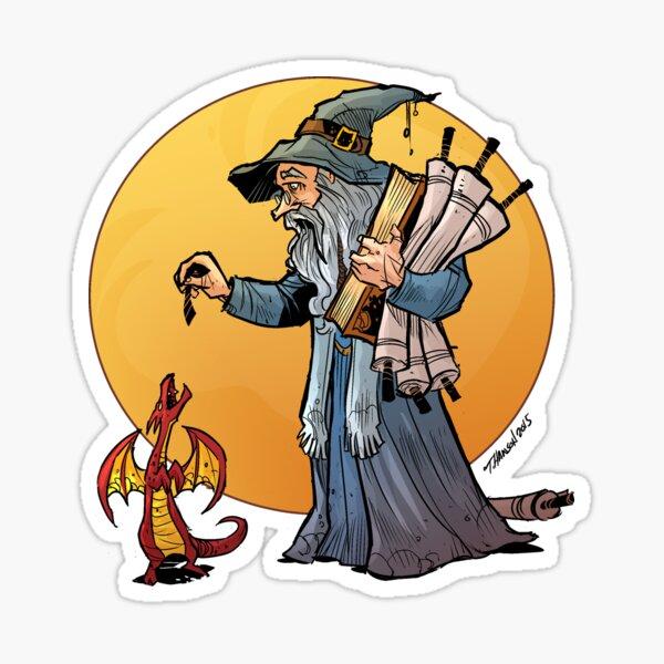 the Wizard Sticker
