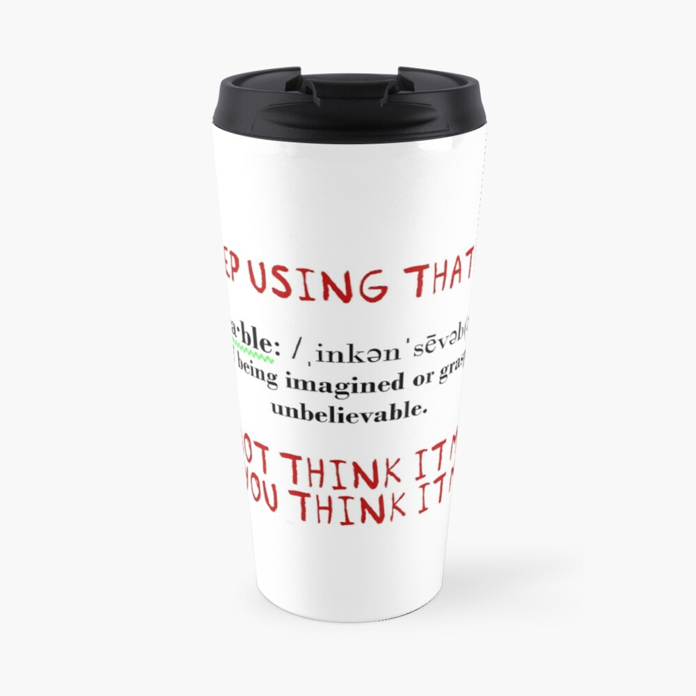 Inconceivable! Travel Mug