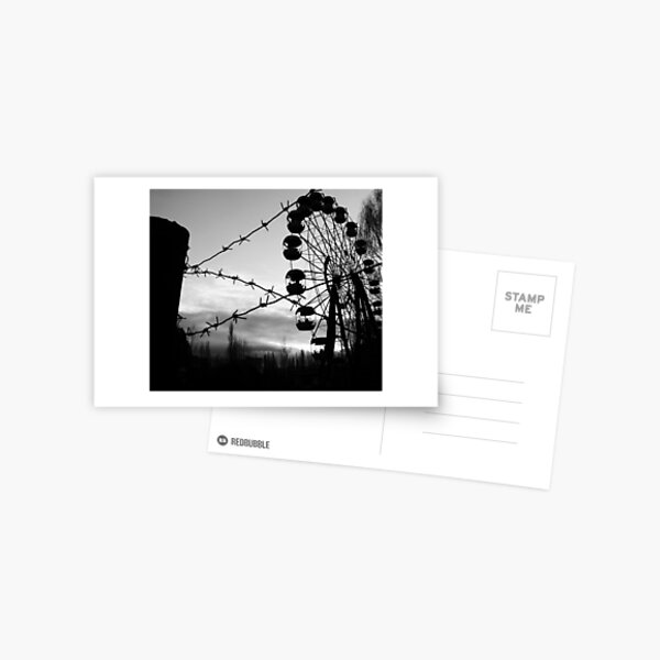 Chernobyl Postcard
