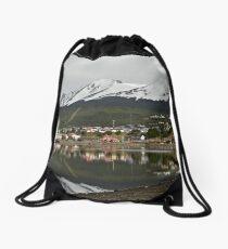 "Ushuaia ` ""The end of the world"" Drawstring Bag"