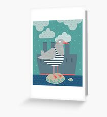 A seagull Greeting Card