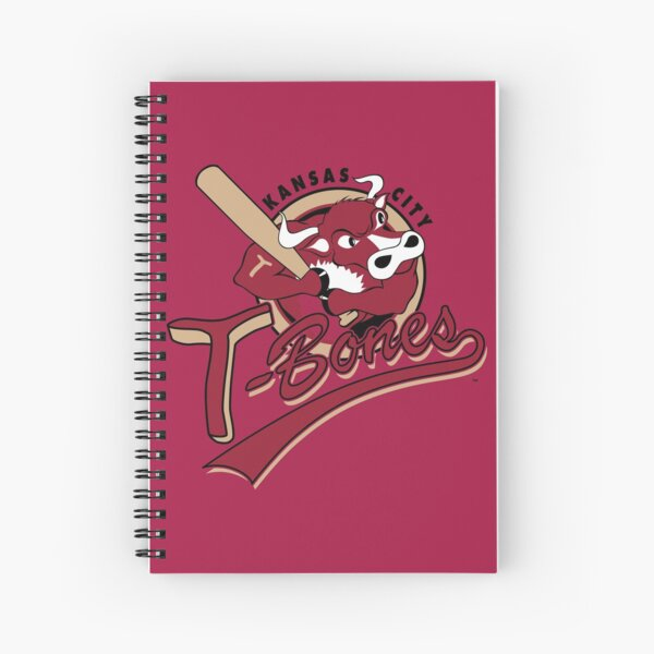 Kansas City T Bones Spiral Notebook
