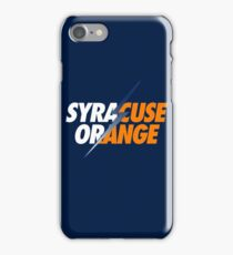 SYRACUSE ORANGE iPhone Case/Skin