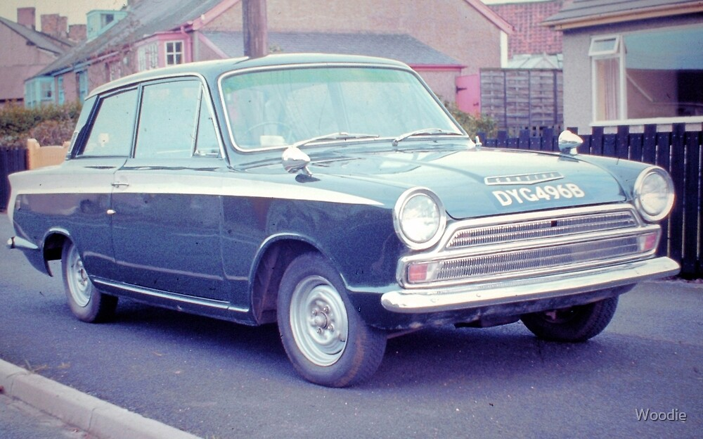 1963 Ford Cortina GT by Woodie