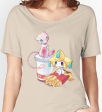 Jirachi & Mew Women's Relaxed Fit T-Shirt