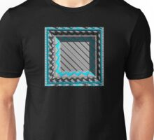 Empty Patterned Box Unisex T-Shirt