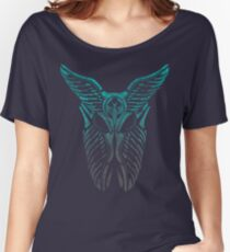 Shard Helm [ TURQUIOSE & SILVER ] Women's Relaxed Fit T-Shirt