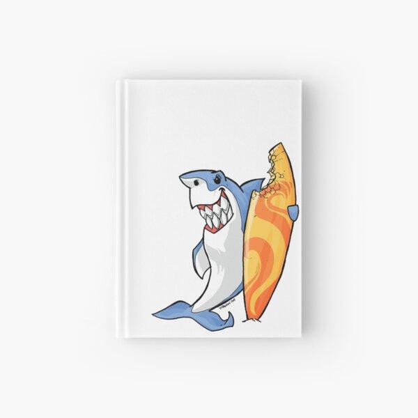 Surfer Shark Hardcover Journal
