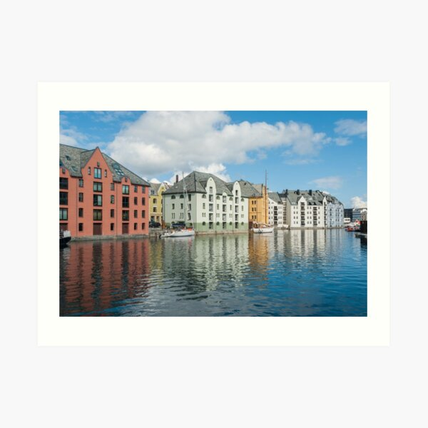 Ålesund in Norway Art Print