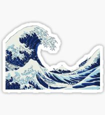 Ocean Wave Stickers Redbubble
