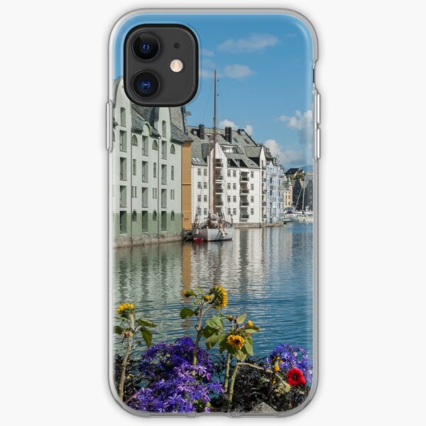 Ålesund in Norway in summer iPhone Soft Case