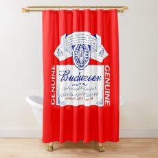 Budweiser  Shower Curtain
