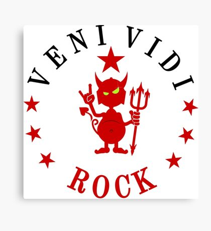 VENI VIDI ROCK VRS2 Canvas Print