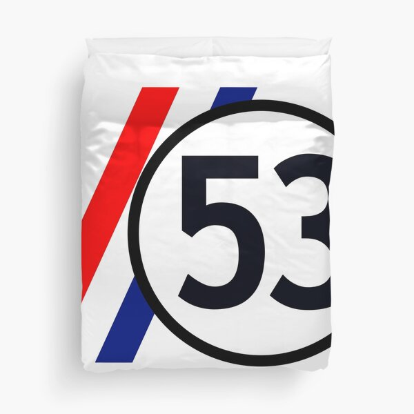 Herbie 53 The Love Bug Duvet Cover