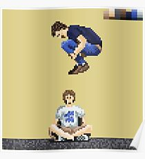 Broken Pixel - Brothers Can't Be Friends Poster