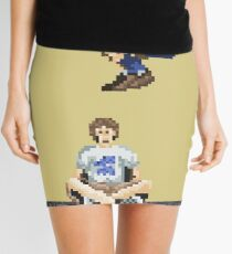 Broken Pixel - Brothers Can't Be Friends Mini Skirt