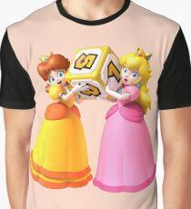 Princess Peach and Daisy Graphic T-Shirt