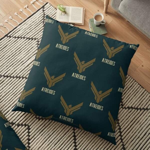 Atreides House Art Design Distressed Version - Dune (2020 film) Floor Pillow