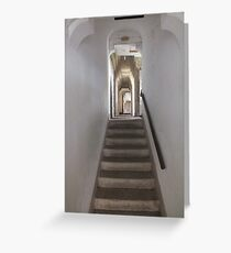 Upstairs, Downstairs Greeting Card