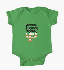 San Francisco Giants Flag Logo Kids Clothes