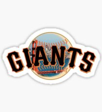 San Francisco Giants Skyline Logo Sticker