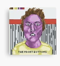 Broken Pixel - The Front Bottoms (Self Titled) Canvas Print