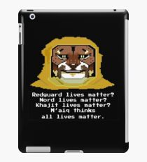 M'aiq on #BLM (TES Lore) iPad Case/Skin
