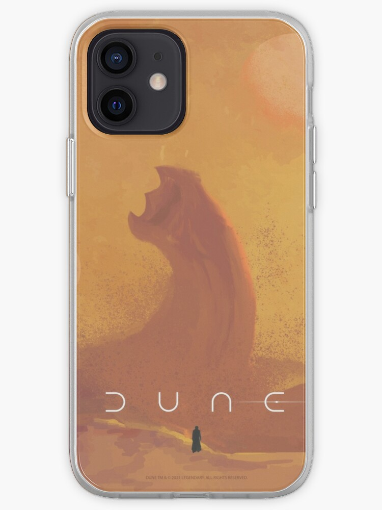 Dune 2021 Fan Art Sandworm Iphone Case Cover By Coloor Redbubble