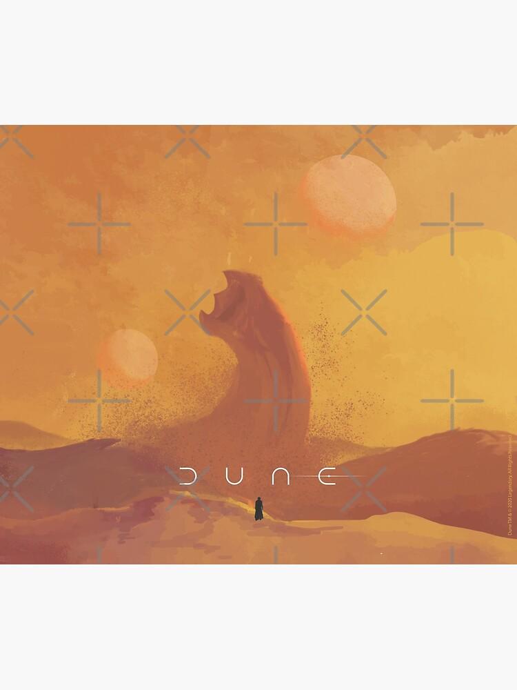 Dune 2021. Fan Art. Sandworm by Coloor