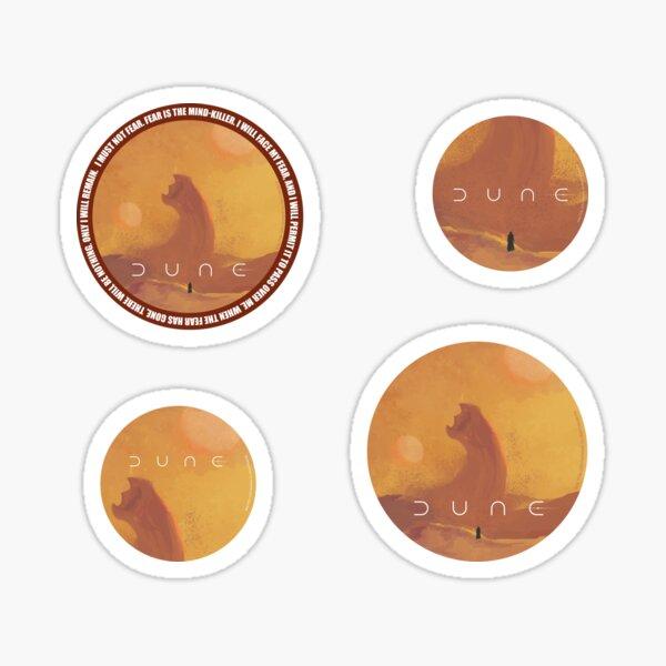 Dune 2021. Fan Art. Sandworm Sticker