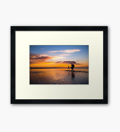 When I have a camera in my hand... Framed Print