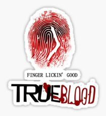 tRUE blood-fingerprint Sticker