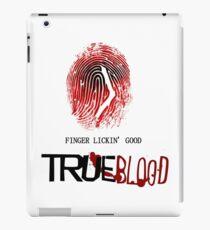 tRUE blood-fingerprint iPad Case/Skin