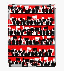 protest march iPad Case/Skin