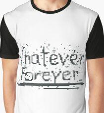 Broken Pixel - Whatever Forever Graphic T-Shirt