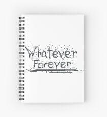 Broken Pixel - Whatever Forever Spiral Notebook