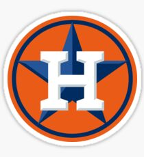 Houston Astros Color Swap Logo Sticker